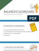 Presentación del Balance Scorecard pdf