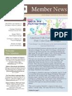 Greater Bangor CVB March 2014 Newsletter