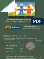 Sensibilidad Urbana Para Gdl
