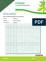 sopa de letras del metodo cientifico.pdf