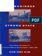 Eun Mee Kim - Big Business, Strong State, Collusion and Conflict in South Korean Developments, 1960-1990 (1997)
