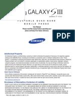 Samsung Galaxy S III User Manual