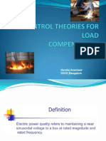 Control Theories for Load 1