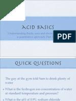 3-acid basics