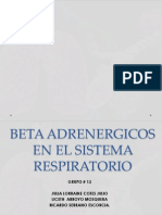 Beta Adrenergicos