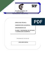 Programa Ecologia social