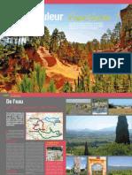 Dossier Magazine FFCT COULEUR VAUCLUSE Cyclotourisme