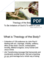 Summary of The Theology of Body