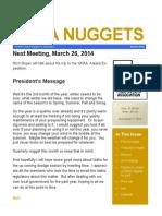 Mar 2014 NUPA Newsletter