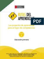 Proyectos Primaria Rutas 2014