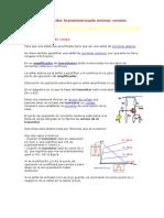 CONCEPTOS Amplificador transistorizado emisor común.doc