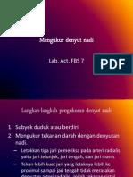 Intro Lab. Act Cvs Faal Fbs 7 (Asr)