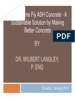 Fly Ash Makes Better Concrete -Langley