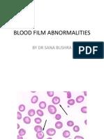 Blood Film Abnormalities