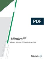 Mimics Student Edition Course Book