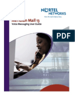 Nortel Networks Meridian Mail