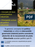 Politica Industriala