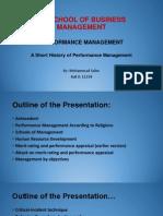 A Short History of Performance Management V1