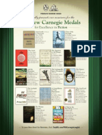 Andrew Carnegie Medal Nominees for Excellence in Fiction and Nonfiction 2014 for Penguin Random House Titles.