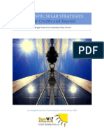 Executive Summary-SunWiz-Successful Solar Strategies