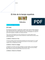 El Arte de La Baraja Espanola manual completo