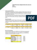 Evolución de las ventas en Denia - Febrero 2014