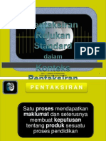 Konsep Standard Prestasi Updated 20 April 2011