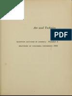 Mumford Lewis Art and Technics