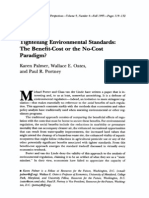 PALMER, Tightening Environmental Standards - The Benefits-Cost or the No-Cot Paradigm.pdf