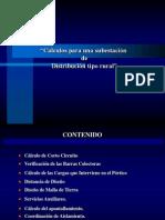 DISEÑO TIPICO SUBESTACION RURAL.ppt