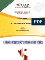 Semana 8, Ayuda 8, Desarrollo Economico Del Peru