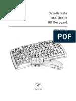 Gyration Keyboard Manual