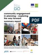APaNGO Summary Report