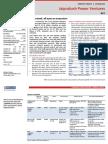 JP Power Ventures Report