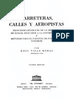 Carreteras, Calles y Aeropistas - V RODAS