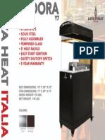 2014 - Lava Heat Italia -  Pandora Y7 Sell Sheet