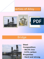 Properties of Alloy Student