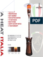 2014 - Lava Heat Italia - Alto Sell Sheet