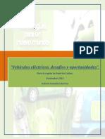 Vehiculos Electricos Desafios y Oportunidades. Noviembre 2013.