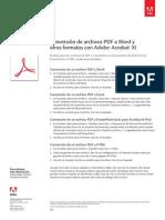 Adobe Acrobat Xi Convert PDF to Microsoft Office Word Tutorial e
