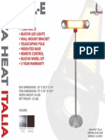 2014 - Lava Heat Italia -  Wall-E Sell Sheet