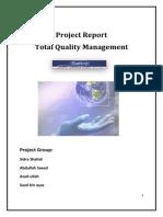 TQM Project Report