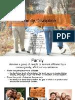 Family Discipline