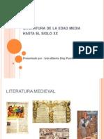 Literatura de La Edad Media Hasta El Siglo