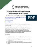 IBF Training Onsite