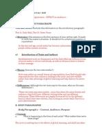 Paper 1 IB LANGUAGE AN DLITERATURE OUTLINE