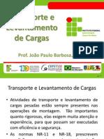Transporte e Levantamento de Cargas - IfES