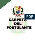 Carpeta de Postulante Eo-pnp 2014
