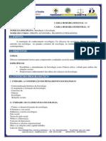 Programa Introducao Sociologia