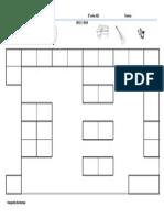 Mapa da sala de aula 1º ciclo
